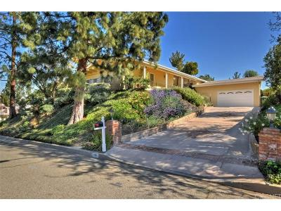 Woodland Hills Single Family Home For Sale: 4791 Del Moreno Drive