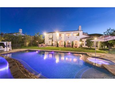 Calabasas Single Family Home For Sale: 25591 Prado De Azul