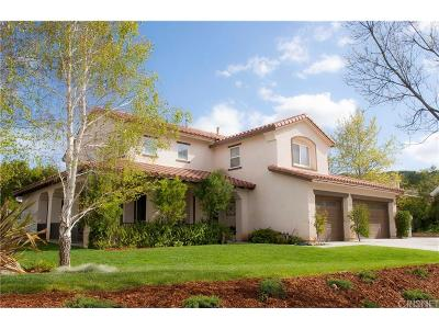Castaic Single Family Home For Sale: 30166 Sagecrest Way