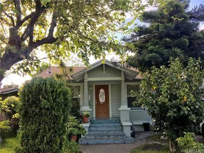 Los Angeles Single Family Home For Sale: 1243 Sanborn Avenue