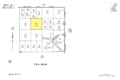 Palmdale Residential Lots & Land For Sale: Small Rd. & Sierra Highway