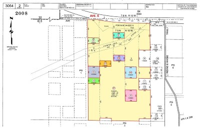 Palmdale Residential Lots & Land For Sale: 18 St. West And Ave. S