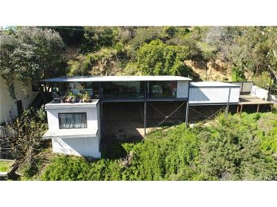 Hollywood Hills Single Family Home For Sale: 8536 Franklin Avenue