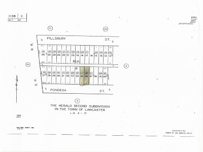 Lancaster Residential Lots & Land For Sale: 2500 On Pondera Street
