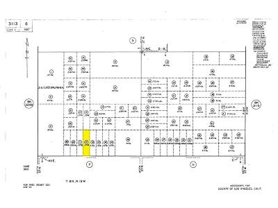 Lancaster Residential Lots & Land For Sale: 47 West & Ave. C