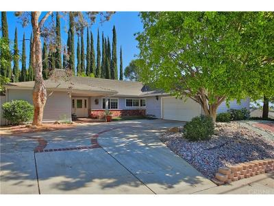 Calabasas Single Family Home For Sale: 22537 Paul Revere Drive