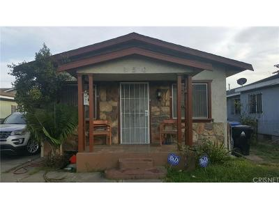 Los Angeles Single Family Home For Sale: 150 East 104th Street