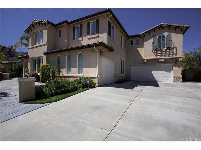 Stevenson Ranch Single Family Home For Sale: 25828 Arbor Lane