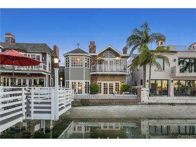 Long Beach Single Family Home For Sale: 5625 East Sorrento Drive