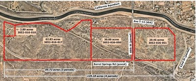 Los Angeles County Residential Lots & Land For Sale: Barrel Springs Rd/Aqua