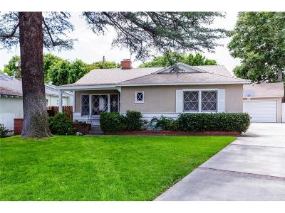 Sherman Oaks Single Family Home For Sale: 14834 McCormick Street