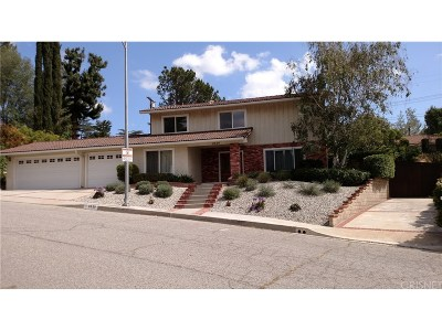 West Hills Single Family Home For Sale: 8629 Delmonico Avenue