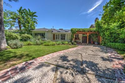 Studio City Single Family Home For Sale: 4330 Teesdale Avenue