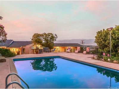 Studio City Single Family Home For Sale: 3712 Berry Drive