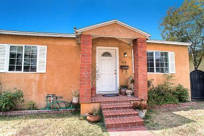 Burbank Single Family Home For Sale: 1819 Jackson Street