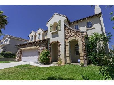 Stevenson Ranch Single Family Home For Sale: 26511 Thackery Lane
