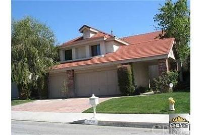 Stevenson Ranch Single Family Home For Sale: 25526 Hardy Place