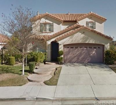 Castaic Single Family Home For Sale: 29868 Cashmere Place