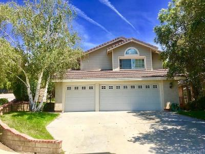 Saugus Single Family Home For Sale: 22400 Bea Court
