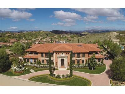 Calabasas Single Family Home For Sale: 25241 Prado Del Grandioso