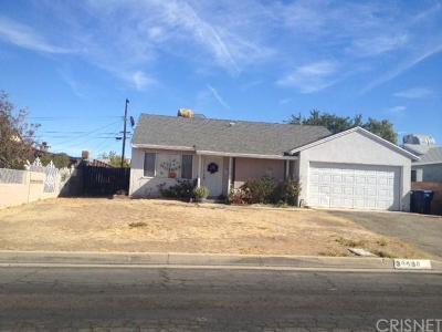 Palmdale Single Family Home For Sale: 38638 Pond Avenue