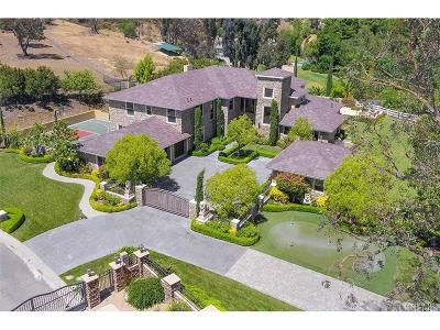 Calabasas Single Family Home For Sale: 25015 Abercrombie Lane
