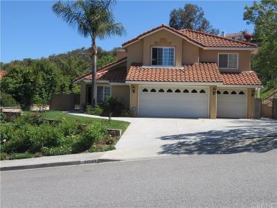 Stevenson Ranch Single Family Home For Sale: 24744 Laurelcrest Lane