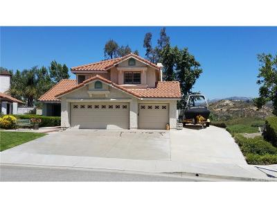 Stevenson Ranch Single Family Home For Sale: 25002 Foxtail Court