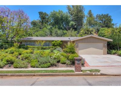 Encino Single Family Home For Sale: 4074 Hayvenhurst Drive