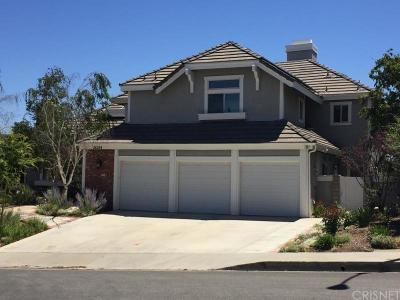Valencia Single Family Home For Sale: 26254 Park View Road