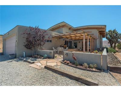 Acton Single Family Home For Sale: 1817 East Carson Mesa Road
