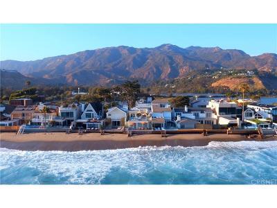 Malibu Single Family Home For Sale: 23410 Malibu Colony Road