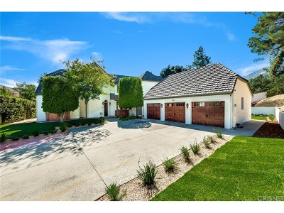 Pasadena Single Family Home For Sale: 1655 Hastings Heights Lane