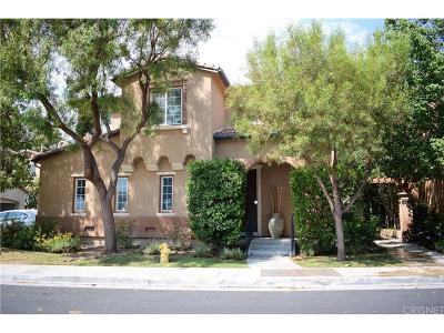 Valencia Single Family Home For Sale: 27209 Valderrama Drive