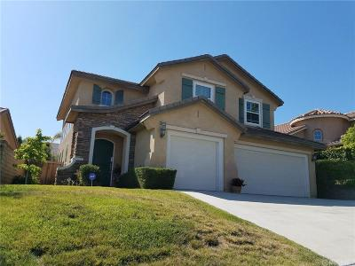 Saugus Single Family Home For Sale: 28913 Canyon Oak Place