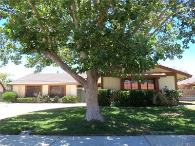 Lancaster Single Family Home For Sale: 43435 Vista Circle Drive