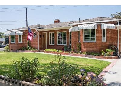 Burbank Single Family Home For Sale: 301 North Ontario Street