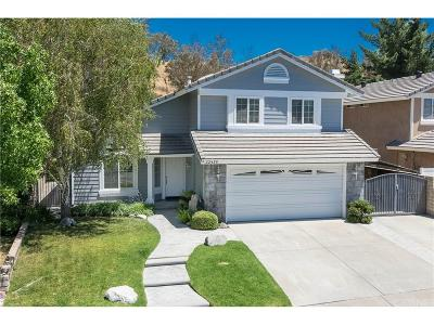 Saugus Single Family Home For Sale: 22435 Cardiff Drive