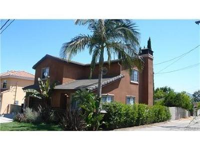 Burbank Single Family Home For Sale: 421 South Sunset Canyon Drive