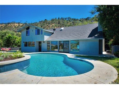 Studio City Single Family Home For Sale: 10911 Wrightwood Lane