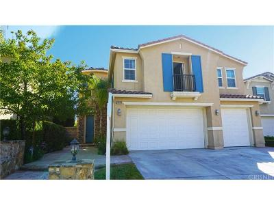 Canyon Country Single Family Home For Sale: 26928 Flowering Oak Place