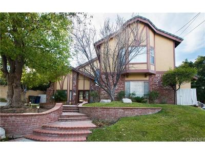 Newhall Single Family Home For Sale: 25051 Wheeler Road