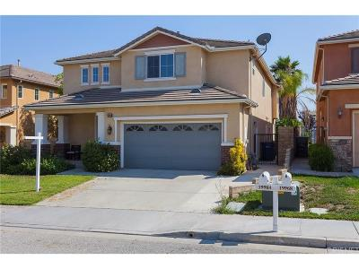 Saugus Single Family Home For Sale: 19964 Sassoon Place
