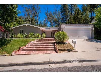 Calabasas Single Family Home For Sale: 22845 Sparrowdell Drive