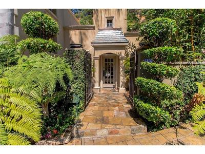 Beverly Hills Single Family Home For Sale: 1454 Benedict Canyon Drive
