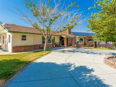 Palmdale Single Family Home For Sale: 40811 55th Street West