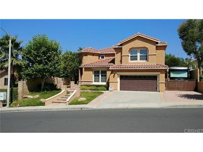 Saugus Single Family Home For Sale: 28415 Gold Canyon Drive