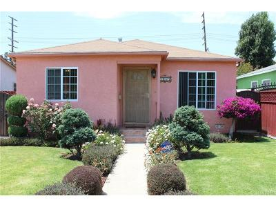 Venice Single Family Home For Sale: 1085 Nowita Place