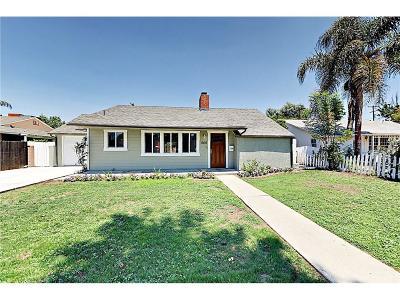 Northridge Single Family Home For Sale: 17415 Elkwood Street