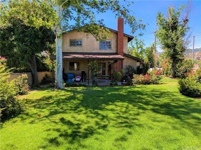 Newhall Single Family Home For Sale: 24131 Wabuska Street